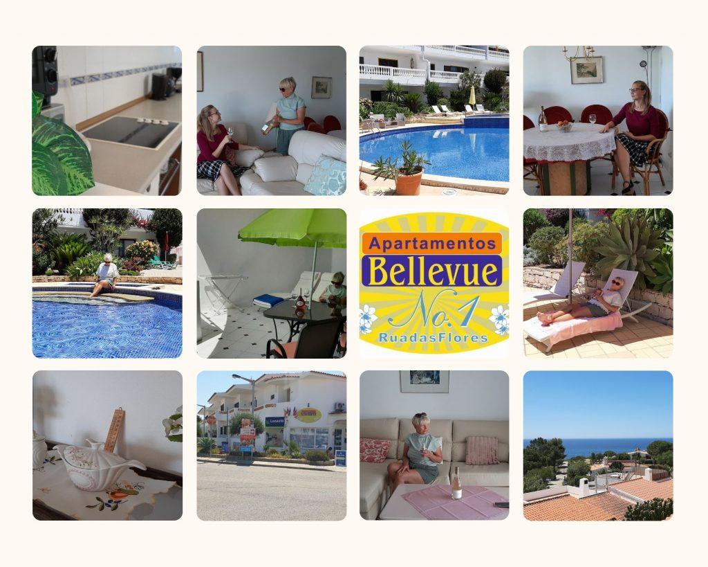 Bellevue no1 um complexo de apartamentos perfeito no Carvoeiro,Algarve Portugal,apartamentos e moradias disponíveis para si.